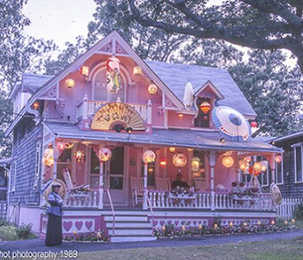 "The story behind ""Illumination of Oak Bluffs"""