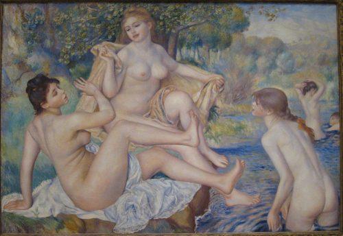 Les Grandes Baignueses - Pierre Auguste Renoir