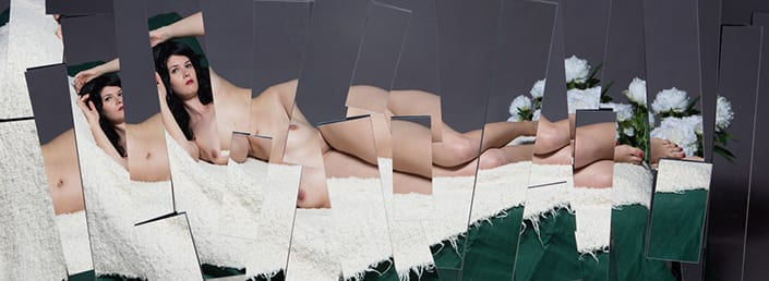 Fragmented Reclined