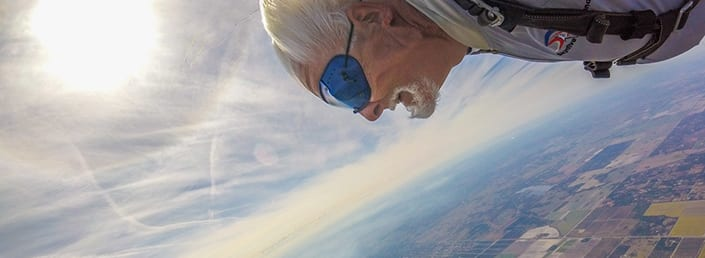 TANDEM DIVE from 14000 feet