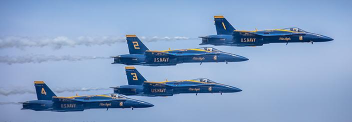 Blue Angels & Thunderbirds